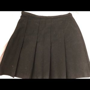 Pleated Skirt by United Colors of Benetton (Black)